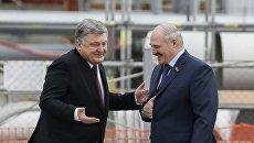 Президенты Украины и Беларуси посетили Чернобыльскую АЭС