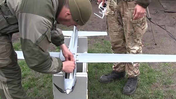 Беспилотный авиационный комплекс украинского производства Spectator-M