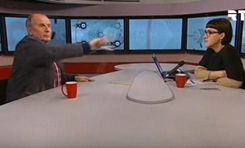 Скандал с Михаилом Веллером в эфире Эха Москвы. Видео