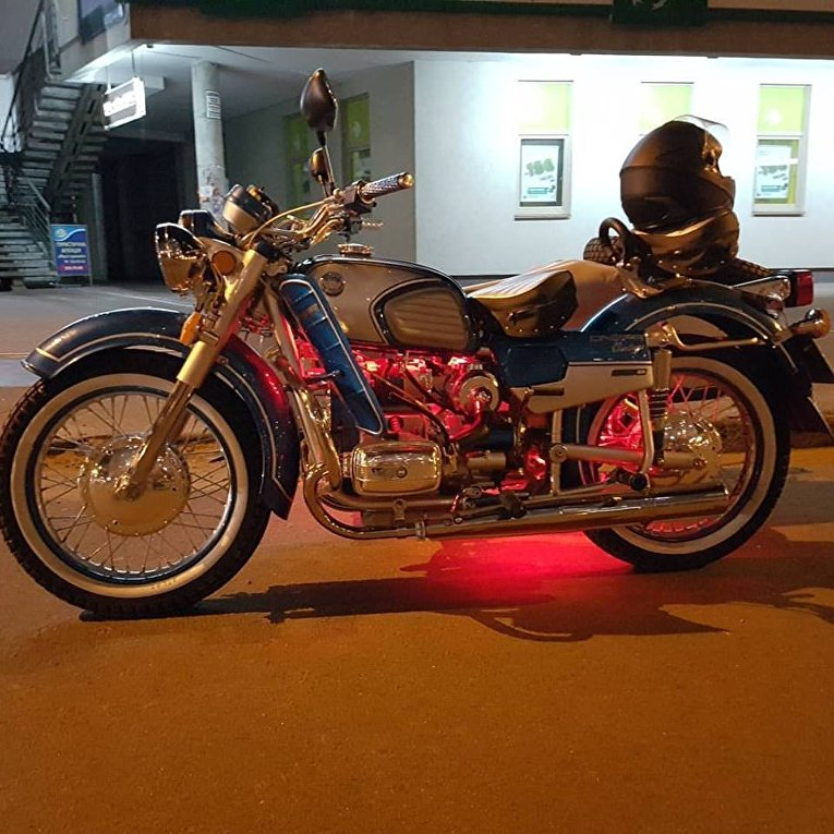 В Украине выпустили эксклюзивные мотоциклы Dnepr Vintage