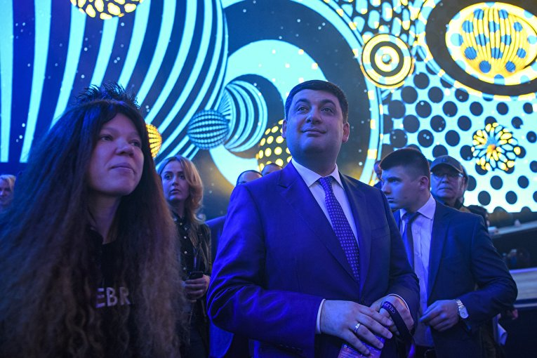 Гройсман: Украина навсе 100% готова кпроведению Евровидения