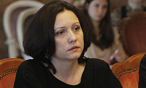 Директор Департамента общественных коммуникаций КГГА Марина Хонда