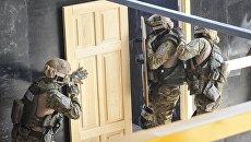 Открытие шут-хауза для тренировок спецназа КОРД под Киевом
