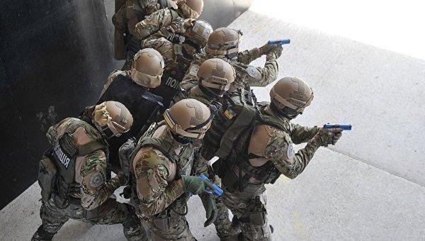 Учения спецназа КОРД. Архивное фото