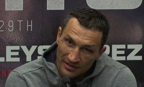 Комментарий Кличко после боя с Джошуа