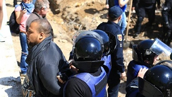 Активисты против «РГБ» истройки вОтраде— Одесское противоборство