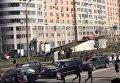 В Москве конная полиция разогнала драку фанатов Спартака и ЦСКА. Видео