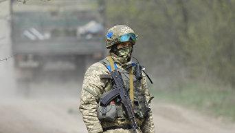 Военный ВСУ. Архивное фото