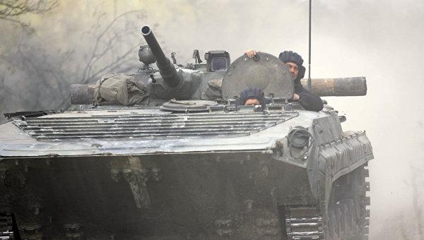 Боевые стрельбы танковой бригады ВСУ. Архивное фото