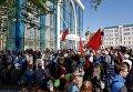 В Харькове первомайский митинг не обошелся без провокаций
