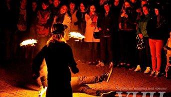 Международный фестиваль огненного искусства в Ужгороде