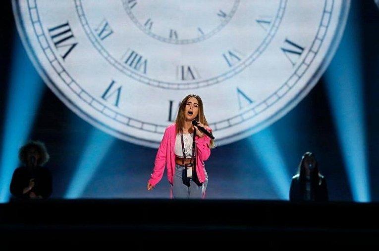 НаСофийской площади открыли первую фан-зону Евровидения