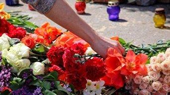 В Одессе вспоминали погибших 2 мая 2014 года