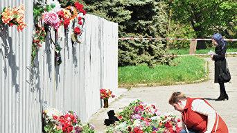 Траурные мероприятия в Одессе в память о погибших 2 мая 2014