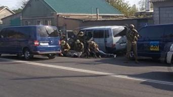 Появились кадры задержания подозреваемых в подготовке теракта в Одессе. Видео
