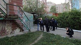 В Святошинском районе Киева на территории учебного заведения произошел взрыв