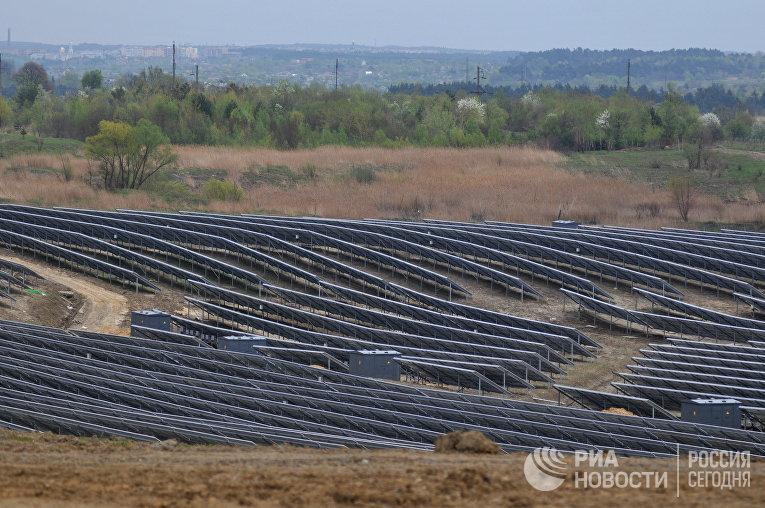 Солнечная фотоэлектрическая станция во Львовской области