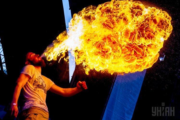Фестиваль огня Fire life fest в Ужгороде