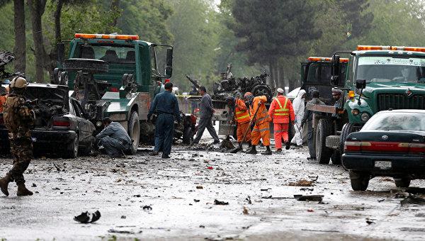 Взрыв недалеко от посольства США в Кабуле