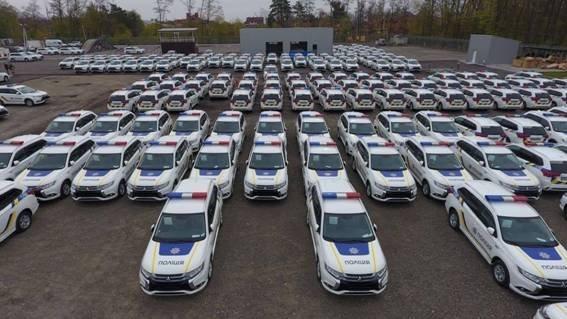 Новые гибридные автомобили Нацполиции