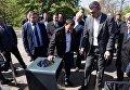 В Киеве появились подземные мусорные баки