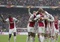 Аякс разгромил Лион в первом матче полуфинала Лиги Европы