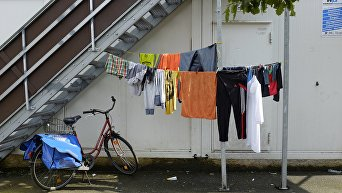 Ситуация с мигрантами в Гамбурге. Архивное фото