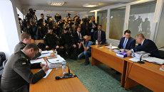 Суд по обвинению экс-президента Украины Виктора Януковича в государственной измене. Архивное фото