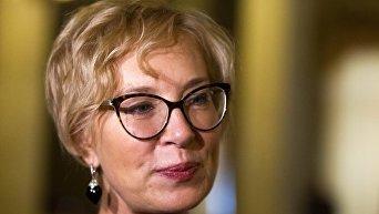Омбудсмен Людмила Денисова. Архивное фото