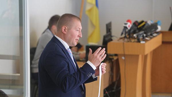 Адвокат Виталий Сердюк на суде по обвинению экс-президента Виктора Януковича в государственной измене