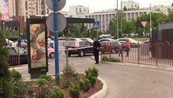 Появилось видео убийства около McDonald's в Киеве