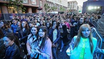 Евровидение-2017. Открытие Еврогородка на Крещатике в Киеве