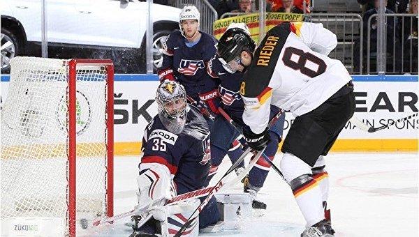 ЧМ по хоккею. США - Германия