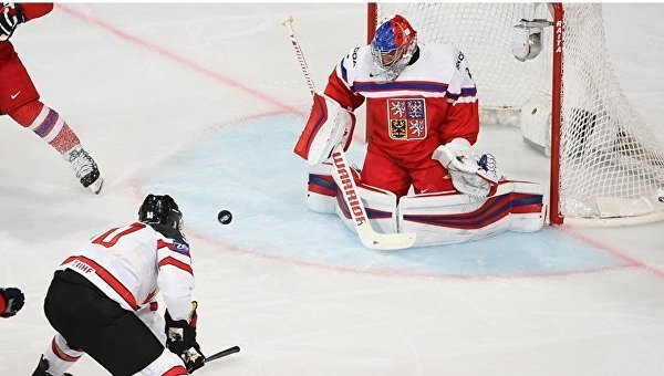 Чемпионат мира по хоккею. Канада - США