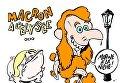 Предвыборная карикатура Charlie Hebdo: пудель-Макрон и бульдог-Ле Пен