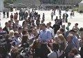 Открытие обновленной Почтовой площади