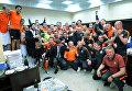 Шахтер в десятый раз стал чемпионом Украины. Празднование победы