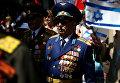 Парад в Иерусалиме ветеранов Великой Отечественной войны