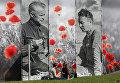 Плакаты ко Дню Победы в Киеве
