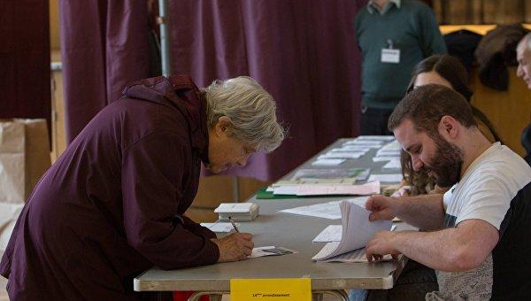 Выборы во Франции. Архивное фото
