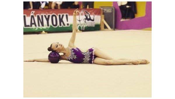 Украинская гимнастка Кристина Пограничная