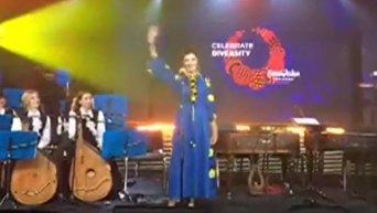 Марина Порошенко на церемонии открытия Евровидения в Киеве