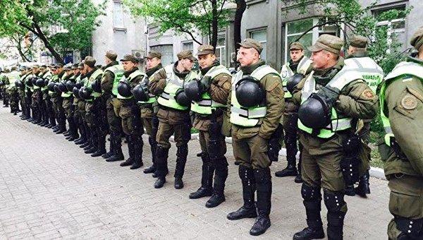 В Киеве заблокировали офис ОУН