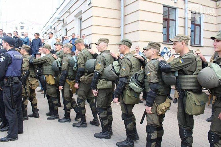 Провокации в День Победы в Запорожье