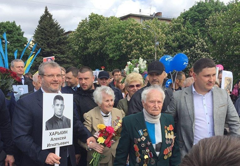 Вилкул: Мы защитили ветеранов, радикалы не смогли сорвать в Днепре многотысячный Марш Победы