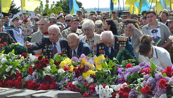 День победы: вУкраинском государстве впроцессе акций задержаны 45 человек