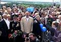 Жители Днепра спели песню День Победы