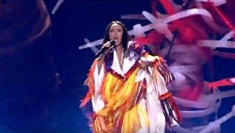 Выступление Джамалы на первом полуфинале Евровидения-2017. Видео