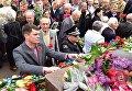 День Победы в Донецкой области. Возложение цветов