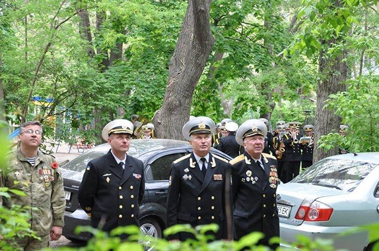 ВМС Украины поздравили с Днем Победы полковника в отставке, ветерана ВОВ Ивана Кулибабу